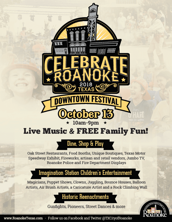 Celebrate Roanoke 2018 Flyer
