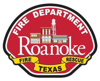 Roanoke Fire Department emblem with city logo