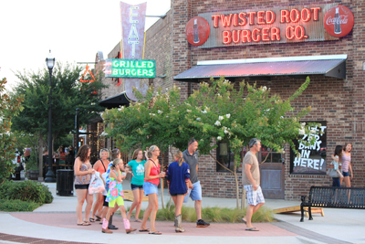 Twisted Root Burger Company Building