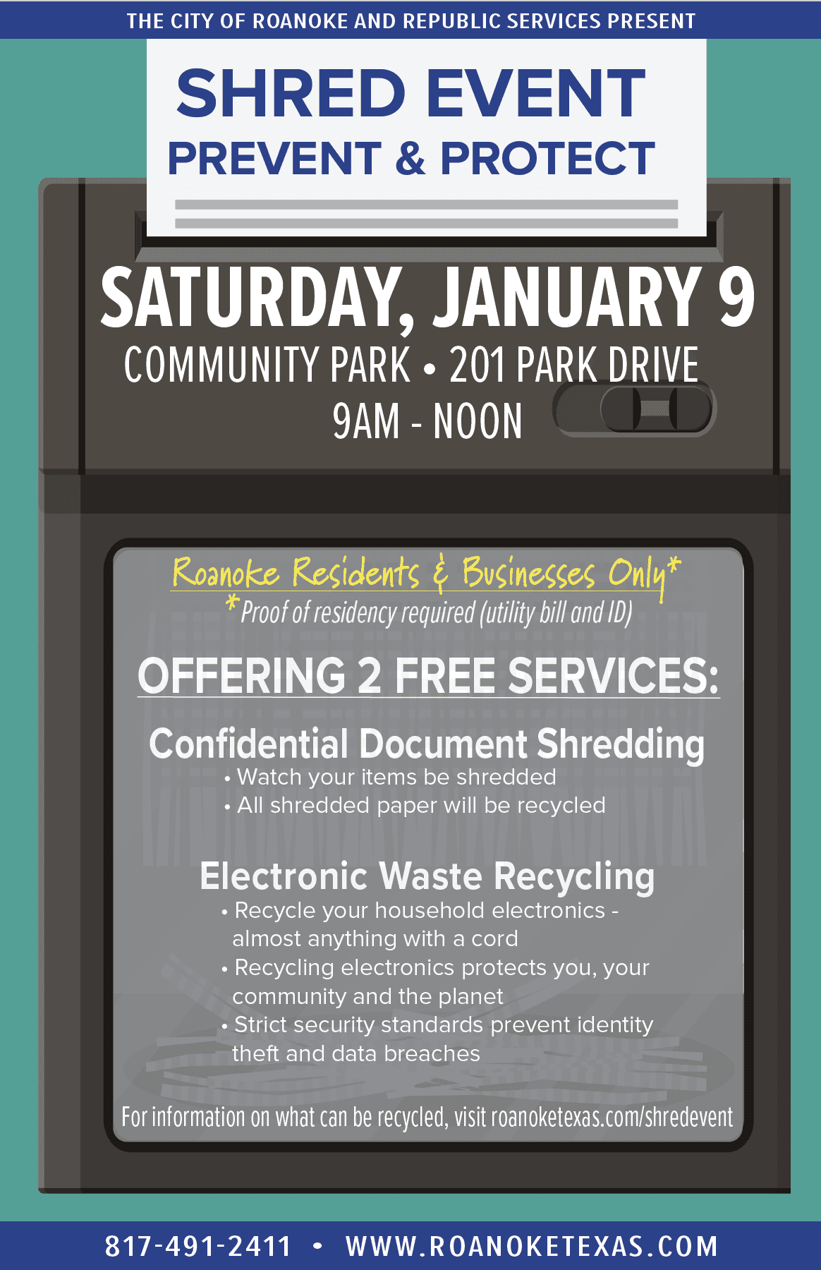 Shred Event 2021